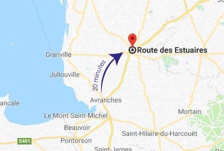crematorium avranches distance