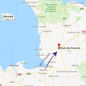crematorium pontorson distance